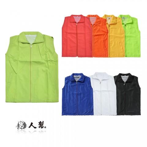 【男人幫】彩色款街頭風衣背心 網狀內裡/工作服(W0107)
