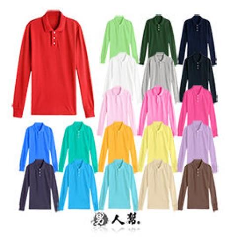 棉質高磅數厚款素色POLO衫-童裝也可穿